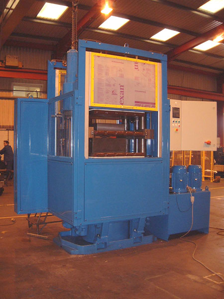 380 Tonne Rubber Gasket Moulding Press